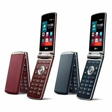 "4G LTE LG Wine Smart2 H410 1GB RAM 4G ROM 3.2"" Android Quad-core CPU Flip Phone"