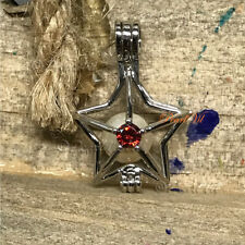Shining Star Pearl Cage Pendant - Located USA
