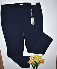 LANE BRYANT THE ALLIE SEXY STRETCH STRAIGHT LEG PANTS 22R NAVY BLUE NWT $59.95