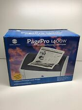 Konica Minolta PagePro 1400W Compact Personal Laser Printer NEW Open Box