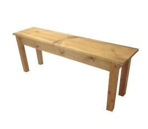 Ranch Collection Farmhouse Bench (Rustic / Dinning / Entryway / Mudroom  Foyer B