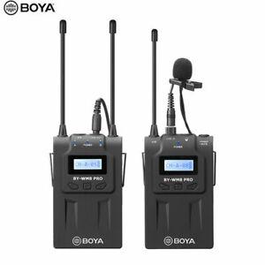 BOYA BY-WM8 Pro K1 UHF Wireless Microphone MIC System Dual Channel Laval PL