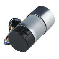 30:1 366rpm Metal Gearmotor 37Dx68L mm with 64 CPR Encoder