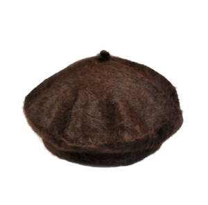 Women Beanie Hat Ski Cap Sweet Warm Rabbit Fur Winter Beret French Artist Hats