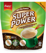 Super Power Instant Coffee Tongkat Ali Ginseng AND Misai Kucing FOR MAN ENERGY