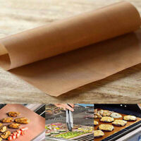2Pcs Reusable Kitchen Chef Baked Cookies Grill and Bake Mats Outdoor BBQ Tools
