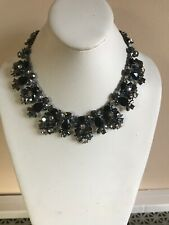 $150 Givenchy Statement necklace hematite multi color #8