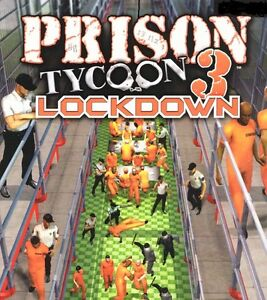 Prison Tycoon 3: Lockdown STEAM KEY (PC) 2007, Simulation, Fast Dispatch