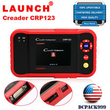 LAUNCH Creader CRP123 OBD2 Auto Diagnostic Scanner Code Reader Airbag ABS Engine