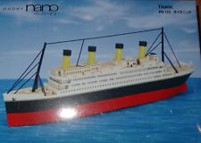 titanic Paper Nano Kawada Laser Cut Paper Model Kit PN135