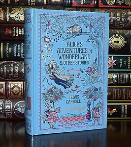 Alice in Wonderland & Stories by Carroll New Sealed Leather Bound Collectible