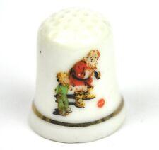 COCA COLA COKE USA porcelaine Dé à coudre Dé à 1970 - Santa avec enfant