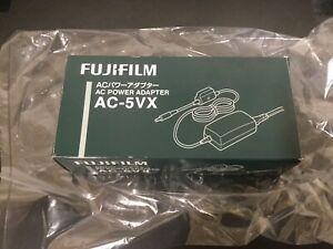 Genuine FUJIFILM AC Mains Power Adapter AC-5VX for Fuji Cameras New In Box.