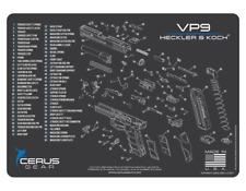 For Heckler & Koch HK VP9 PREMIUM Armorers Cleaning Mat Cerus Gear HK VP9