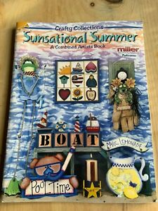Tole Painting Instruction and Pattern Book Summer Wooden Decor Crafts