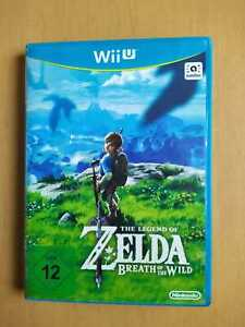 The Legend Of Zelda: Breath Of The Wild (Nintendo Wii U, 2017, DVD-Box)