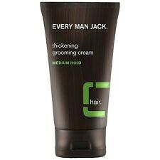 Every Man Jack Thickening Grooming Cream, Medium Hold 5 oz (Pack of 2)