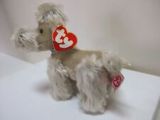 Ty Retired Beanie Baby, BABETTE THE POODLE DOG Mint Cond Tag VG Cond, RARE