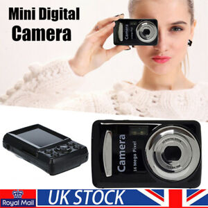 Mini compact Digital Camera 16MP 1080P HD 2.4''TFT LCD Camcorder DV Kid Gift