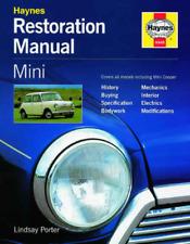 Restore Mini Cooper Restoration Book New Haynes Workshop Manual Service Repair
