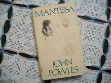 Mantissa (John Fowles, 1982 1st Edition HCDJ)
