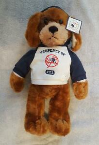 """NY Yankees Official MLB Team Stuffed Plush Dog 19"""" - New with Tags - 2011"""