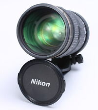 NIKON AF-S NIKKOR 80-200MM F/2.8 D ED IF SWM LENS W/ HOOD, CAPS -- FOCUS ISSUES