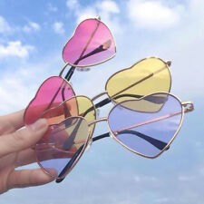 Women Fashion Heart Sunglasses Festival Lolita Style Fancy Party Eyewear Glasses