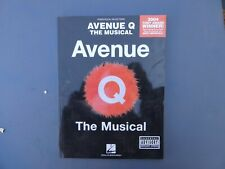Avenue Q The Musical Music Book Piano/Vocal Selection