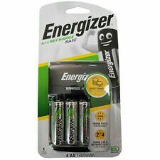 Energizer Base AA /AAA Charger + 4 AA 1300 mAh Rechargeable Batt