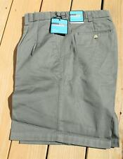 New Big&Tall COMFORT ZONE 100% Cotton Olive Shorts 44/9 Inseam 22 Length