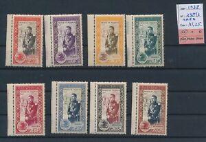 LN75913 Monaco 1938 prince Rainier III fine lot MNH cv 41,25 EUR