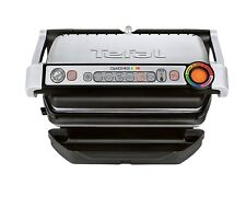 NEW TEFAL OptiGrill+ Stainless Steel Health Grill GC712 with Automatic Thickness