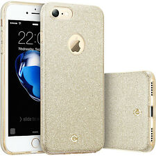 Premium Glitter Glossy silicone Back case cover for iPhone 7 6s Plus SHOCKPROOF