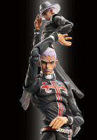 JOJO Super Action Statue Enrico Pucci Limited Edition WF 2017 Figure from JAPAN