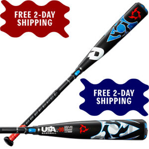 DEMARINI 2020 VOODOO USA BASEBALL BAT 2-PIECE HYBRID WTDXUD2-20