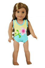 Flower Floral Bathing Swimsuit Made to fit 14.5 Wellie Wishers Doll