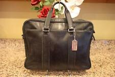 COACH bag back black leather BUSINESS  Briefcase 70168 (PU2000