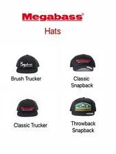 Megabass Snapback & Trucker Fishing Hats / Caps - Choose Style