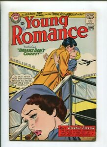 YOUNG ROMANCE #131 (6.5) 1964 DREAMS DONT COUNT