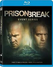 Prison Break Resurrection The Complete TV Event Series NEW 3-DISC BLU-RAY SET