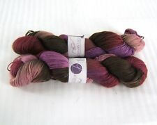 2 Lorna's Laces Solemate 408 Pilsen Fingering Weight Yarn100 gr 425 yd