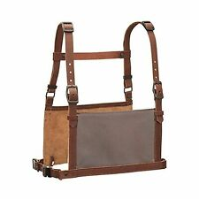 Leather Show Number Harness, Brown, Adult Small/Medium