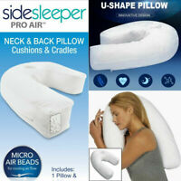Sidekick Sleeper Pillow Sleep Buddy U-Shaped Side Pro Health Care For Head Nap