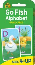 Go Fish Alphabet Game Flash Cards Suitable for Kids Ages 4 - 6 Hinkler