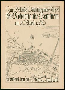Kliefert, Erich Stralsund Gelände-Orientierungs-Fahrt Motorbrigade Pommern 1936