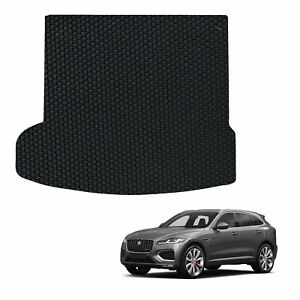 Jaguar F Pace 2016-present Tailored Rubber Car Boot Liner Protector Mat Cover