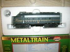 Metaltrain Model Power H0 HO US Diesellok No. 2163 Type F7a der Pennsylvania PRR