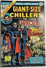Giant-Size Chillers #1 Featuring The Curse of Dracula: 1st Lilith 1974 Marvel Co