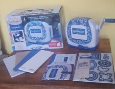 CREATE & CRAFT SPELLBINDERS SAPPHIRE CUTTING AND EMBOSSING SYSTEM